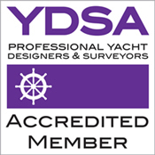 Accredited Member of the Yacht Designers & Surveyors Association (YDSA)